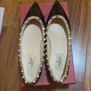 Valentino patent leather shoes